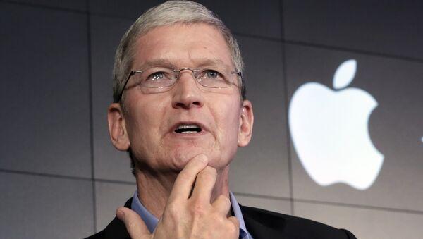 Apple CEO Tim Cook - Sputnik International