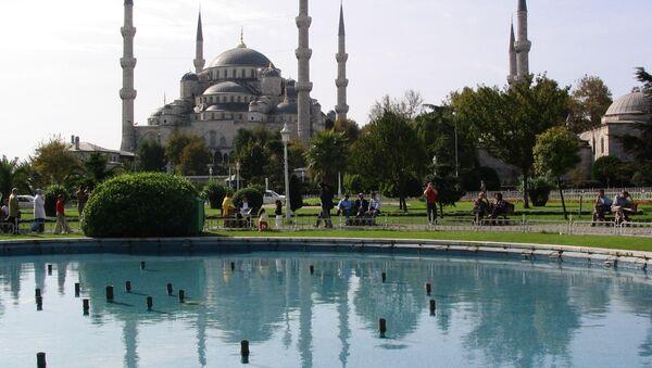 The Blue Mosque in Istanbul, Turkey - Sputnik International