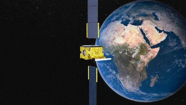 Satellite in orbit - Sputnik International