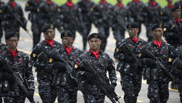 Philippine soldiers - Sputnik International