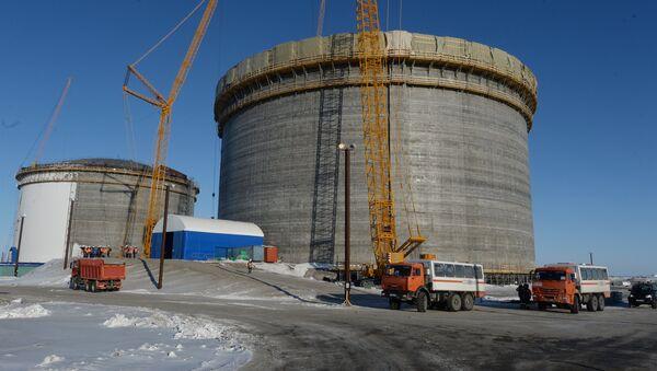 LNG plant construction - Sputnik International