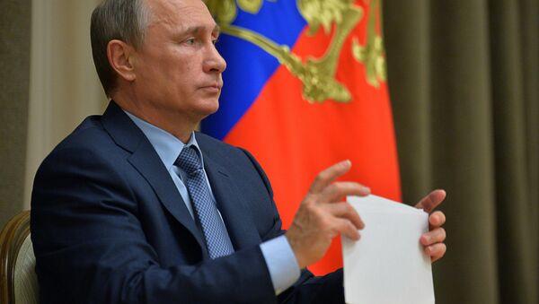 President Putin holds meeting on Russia's priority space activities - Sputnik International