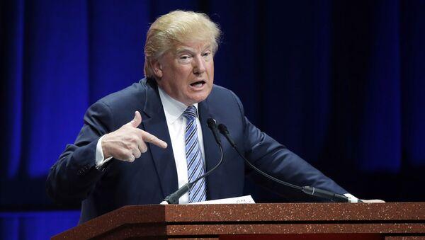 Republican presidential candidate Donald Trump - Sputnik International