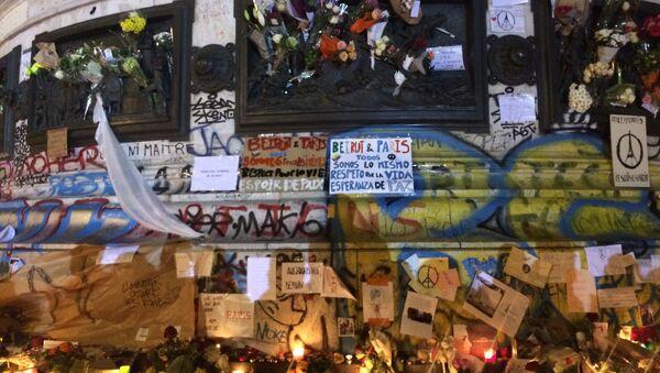 Place de la Republique in central Paris - Sputnik International