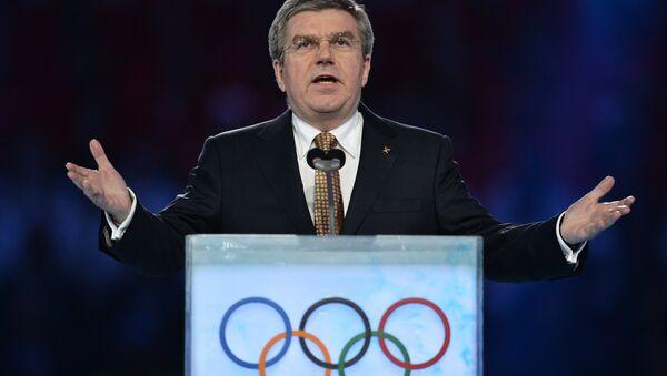 President of the International Olympic Committee Thomas Bach - Sputnik International