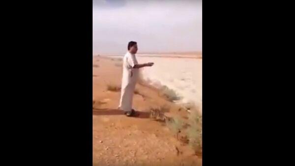Weird natural phenomenon in Saudi Arabia's Empty Quarter desert - Sputnik International