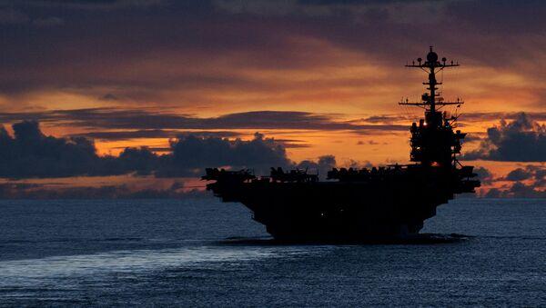 USS George Washington (CVN 73) aircraft carrier - Sputnik International