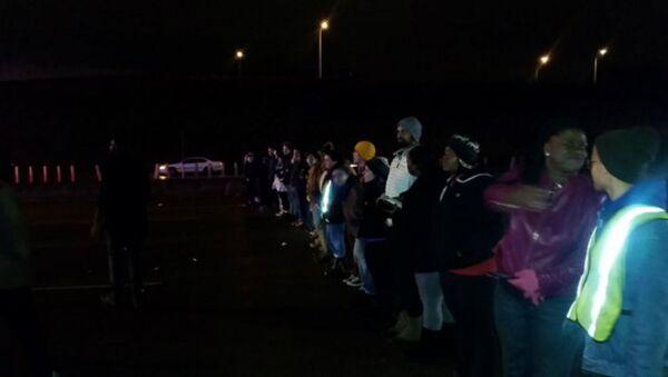 Mass Arrests After #BlackLivesMatter Protesters Shut Down Minneapolis Road - Sputnik International