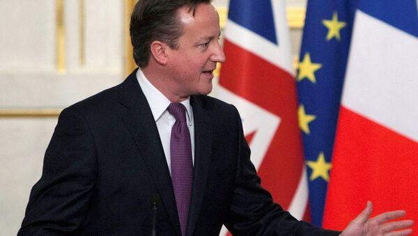 UK PM David Cameron - Sputnik International