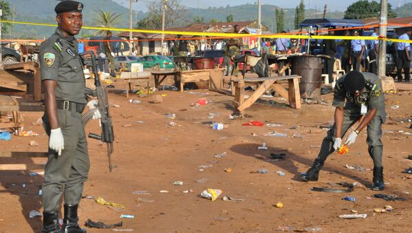 Nigeria police - Sputnik International