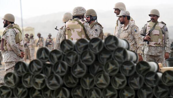 Saudi soldiers - Sputnik International