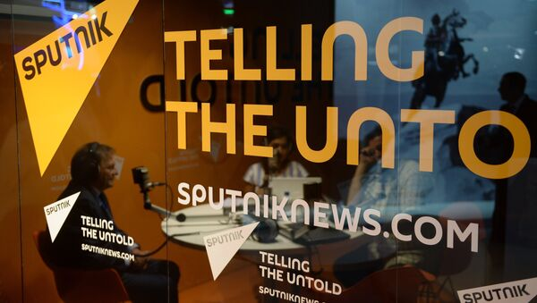 Radio Sputnik studio - Sputnik International