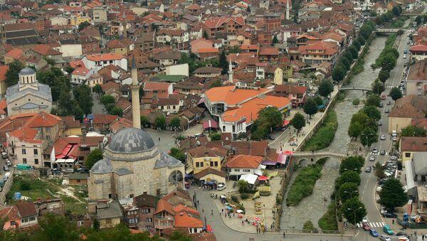 Centre of Prizren, Metohija, region covering the southwestern part of Kosovo - Sputnik International