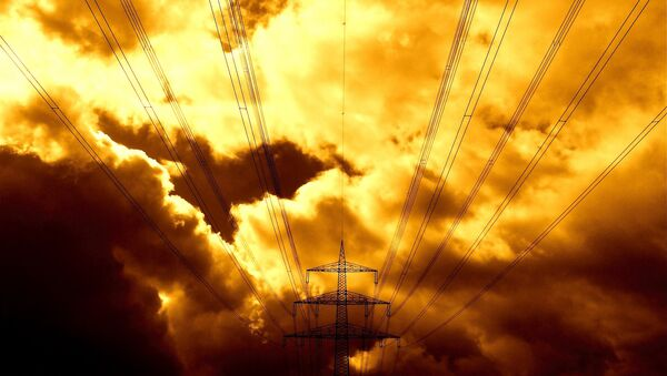 Transmission tower - Sputnik International