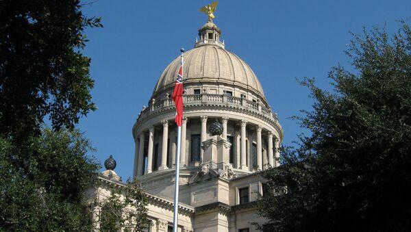 Mississippi State Capitol in Jackson, Mississippi - Sputnik International