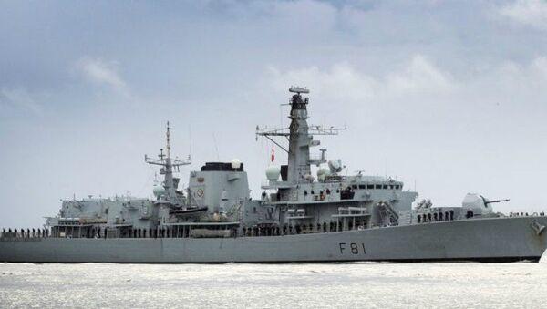 HMS Sutherland - Sputnik International
