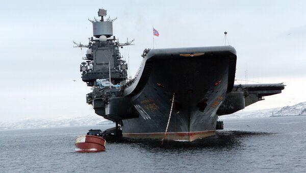 The Admiral Kuznetsov aircraft carrier - Sputnik International