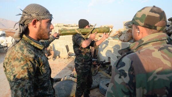 Syrian Arab Army's special operation in Douma, a Damascus suburb - Sputnik International
