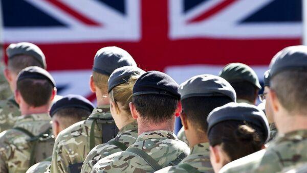 British troops  - Sputnik International