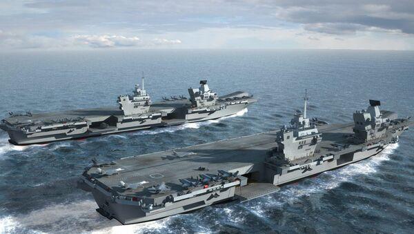 HMS Queen Elizabeth & HMS Prince of Wales - Sputnik International