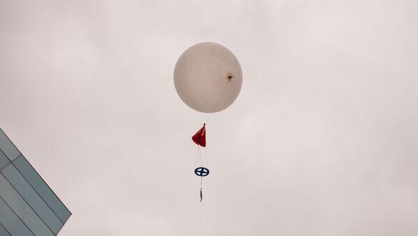COD Meteorology Department Launches Weather Balloon 2015 35 - Sputnik International