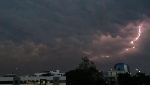 Lightning in Brisbane, Australia - Sputnik International