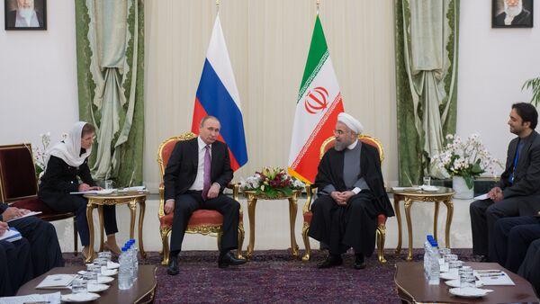 Russian President Vladimir Putin's working trip to Iran - Sputnik International