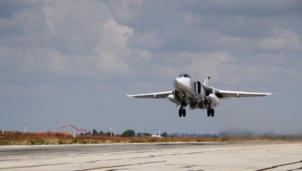 Russian military aviation at Hmeymim airbase in Syria - Sputnik International