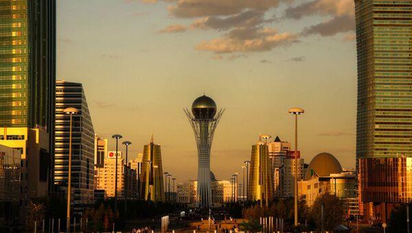 Astana golden hour. Kazakhstan - Sputnik International