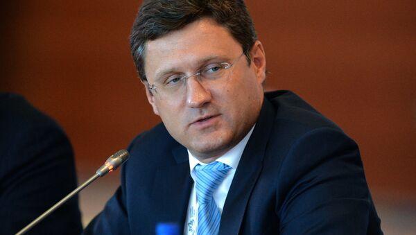 Energy Minister Alexander Novak - Sputnik International