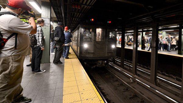 New York subway - Sputnik International