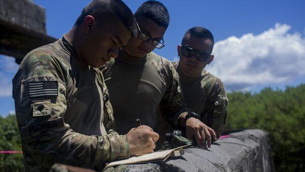 Guam Soldiers. - Sputnik International