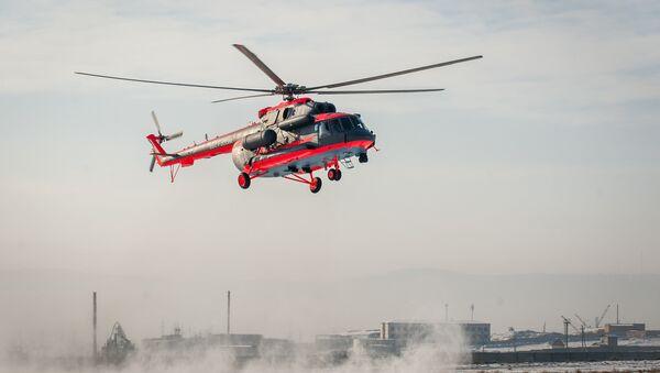 Flight tests of the Mil Mi-8AMTSH-VA Arctic helicopter - Sputnik International