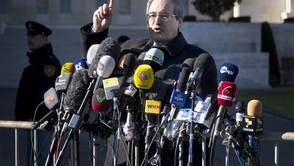 Syrian Deputy Foreign Minister Faisal Mekdad - Sputnik International