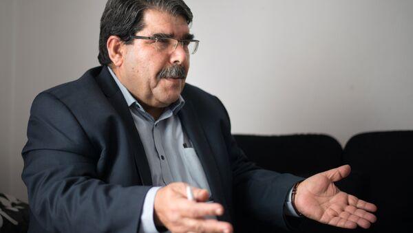 Salih Muslim, co-president of the Syrian Kurdish Democratic Union Party (PYD) - Sputnik International