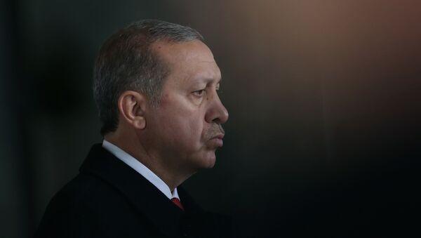 Recep Tayyip Erdogan, presidente de Turquía - Sputnik International