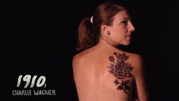 100 Years of Beauty - Episode 14: Americana Tattoo (Casey) - Sputnik International