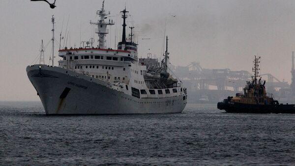 Admiral Vladimirsky research vessel - Sputnik International