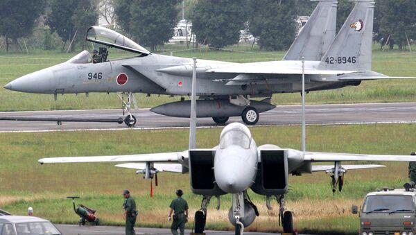 Japan's F-15 aircrafts - Sputnik International