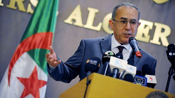 Algeria's foreign Minister Ramtane Lamamra - Sputnik International