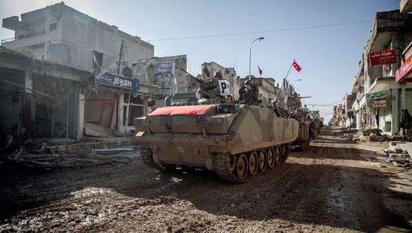 Turkish troops in Syria. File photo - Sputnik International