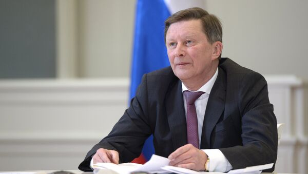 Chief of Staff of Presidential Executive Office Sergei Ivanov - Sputnik International