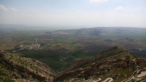 View of the Mar Matti monastery in the Christian town of Bashiqa, north of Mosul, northern Iraq - Sputnik International