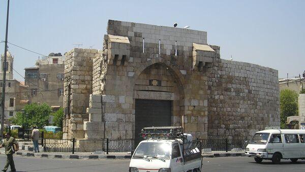 Bab Tuma gate in Damascus - Sputnik International