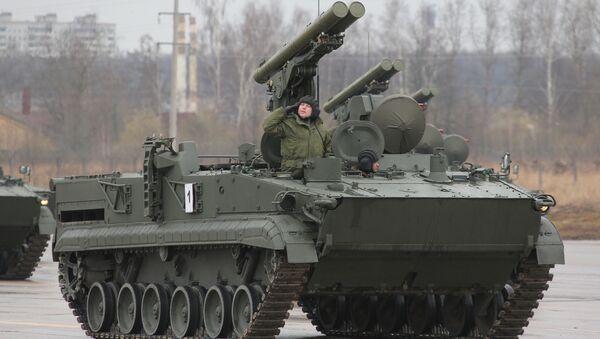 Khrizantema-S supersonic anti-tank missile - Sputnik International