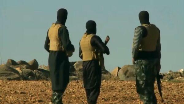 Daesh fighters in Afghanistan - Sputnik International