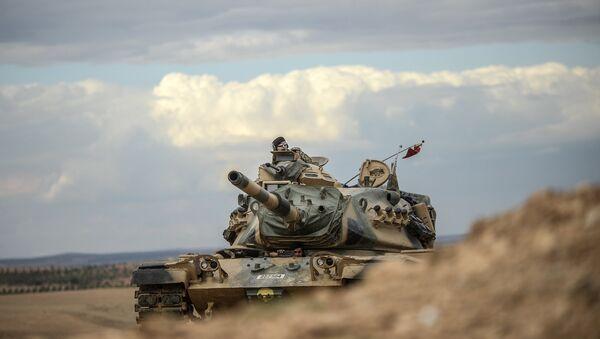 Turkish army tanks - Sputnik International