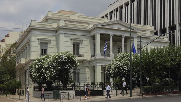 Building of the Ministry of Foreign Affairs in Athens - Sputnik International