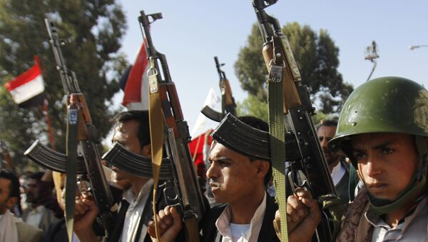 Supporters of the Shiite movement of Houthi. File photo - Sputnik International