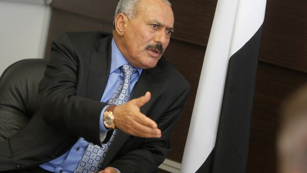 Yemeni President Ali Abdullah Saleh - Sputnik International